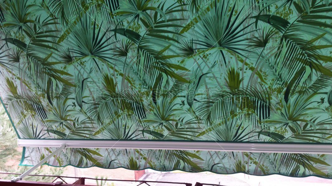 Foto de toldo de tipo stor clásico instalado por toldos narcea