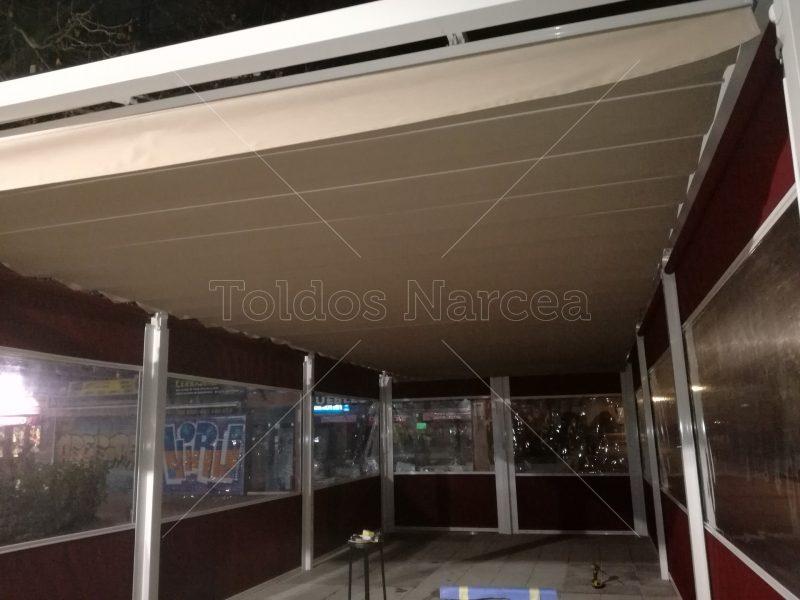 Fotos de cerramientos instalados por Toldos Narcea